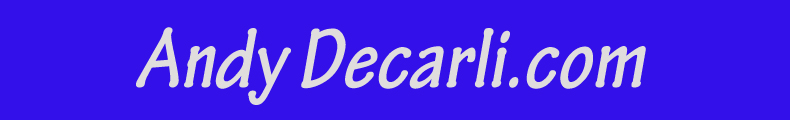 Andy Decarli Top Banner
