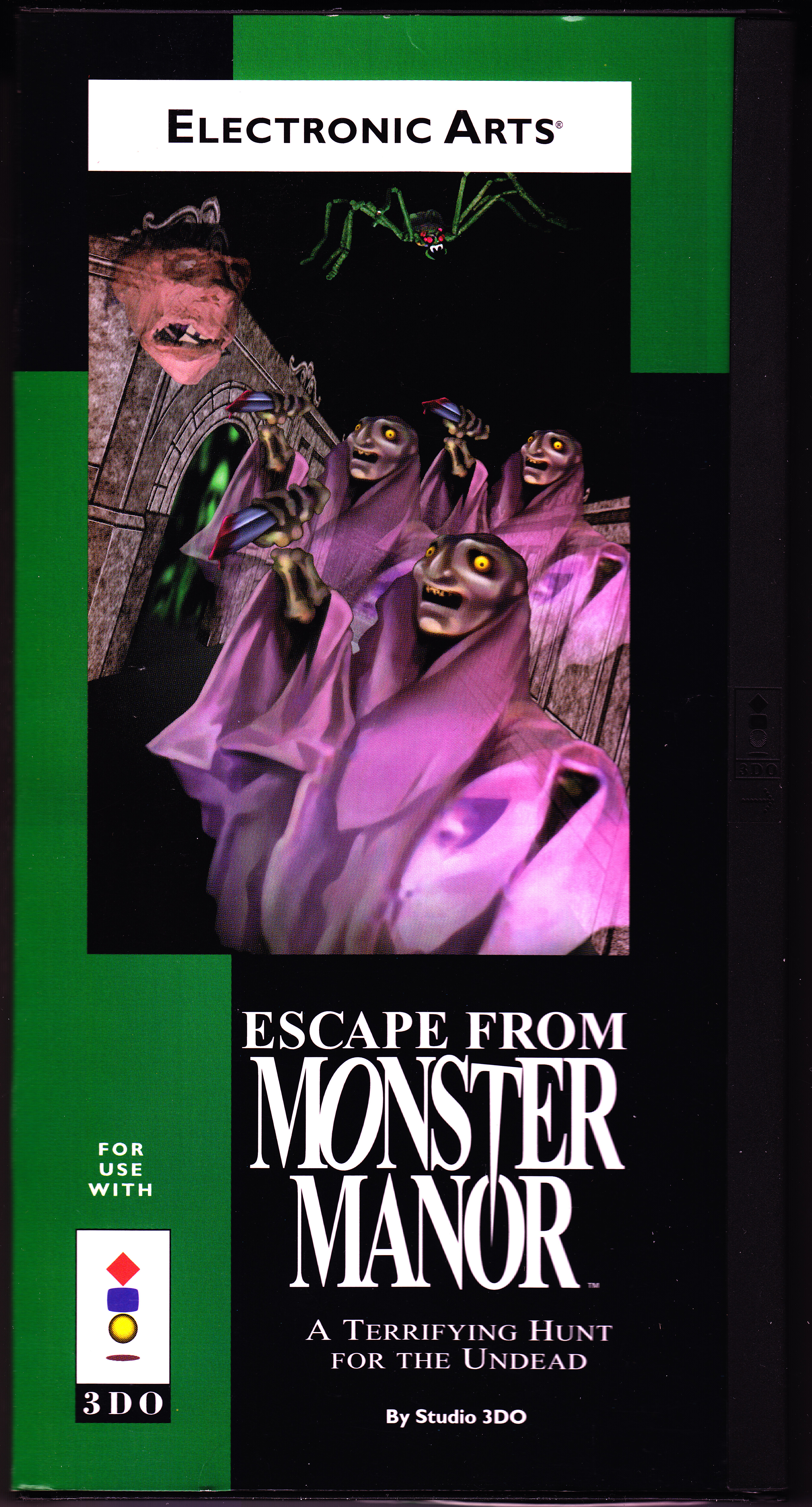 Escape from Monster Manor Front CoverThumbnail