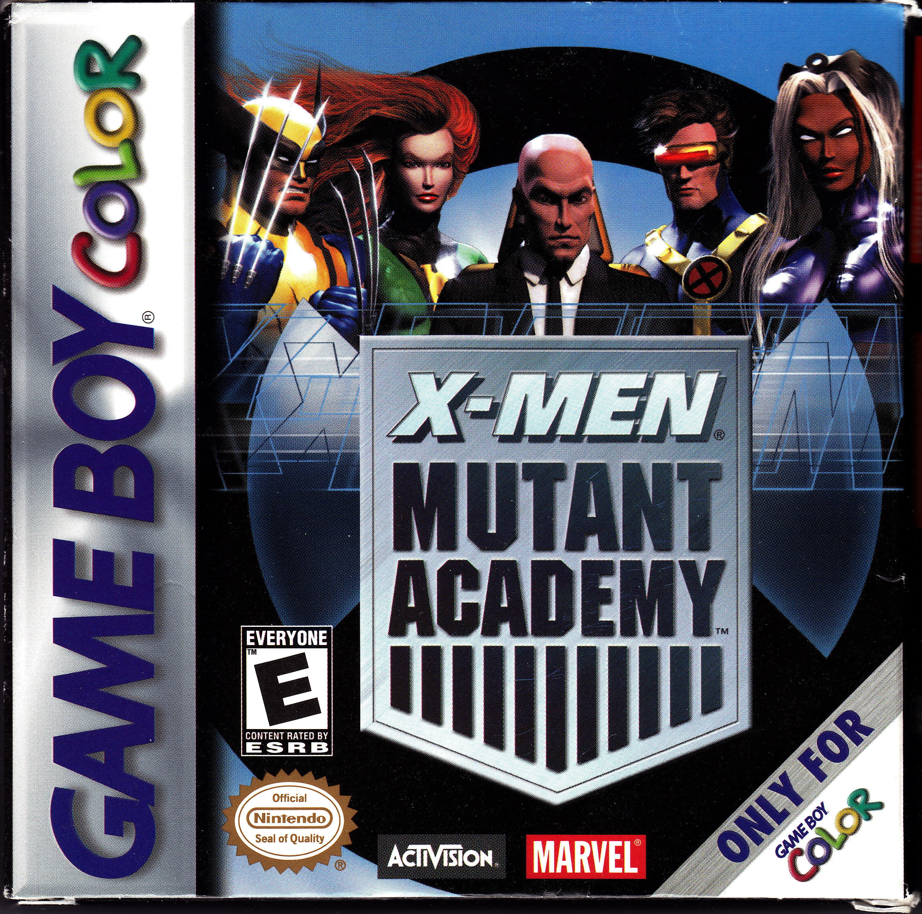 Men: Mutant Academy 2 is a PlayStation video game, the sequel to X