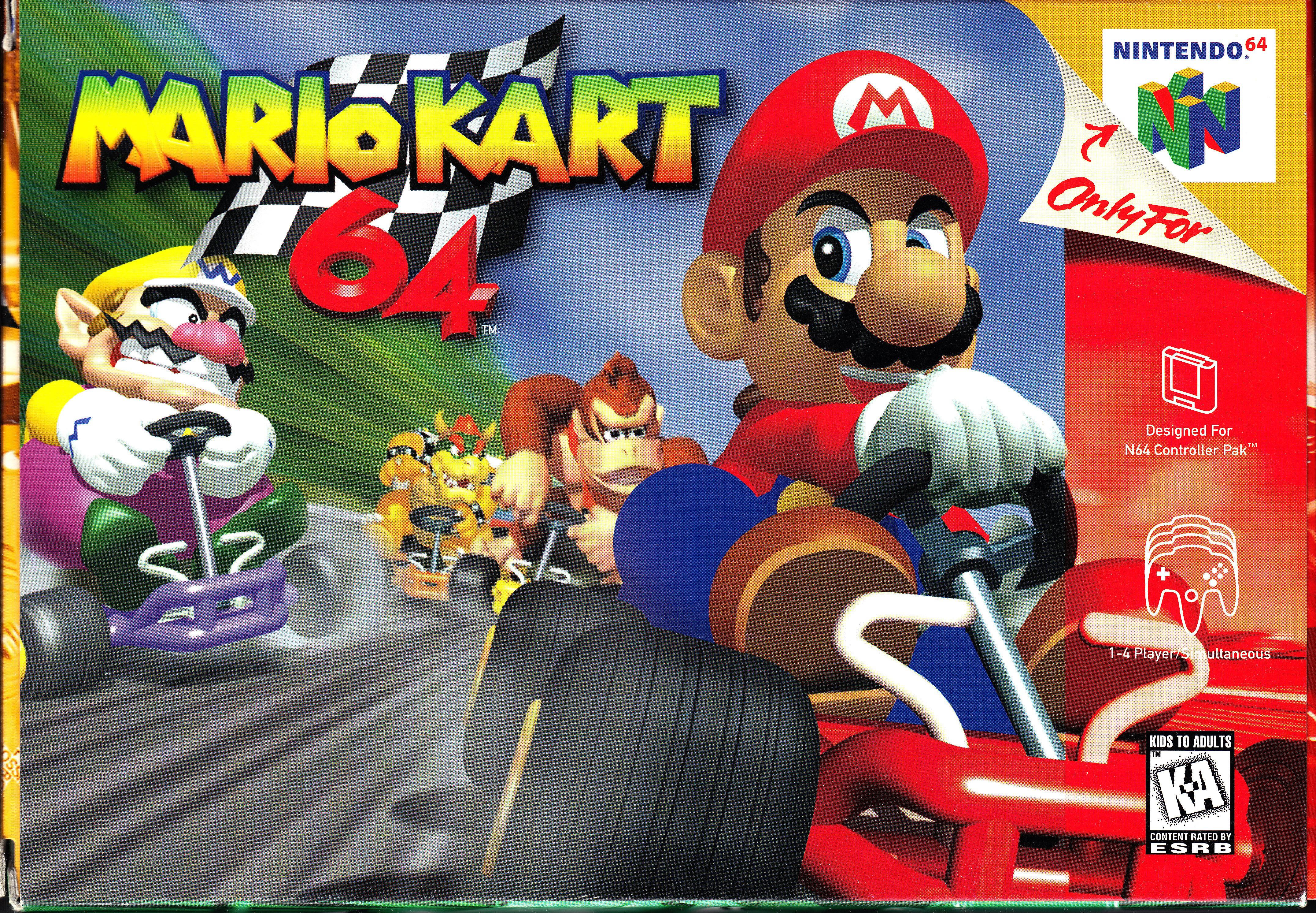 Nintendo 64 Mario Kart 64 Front Cover.jpg