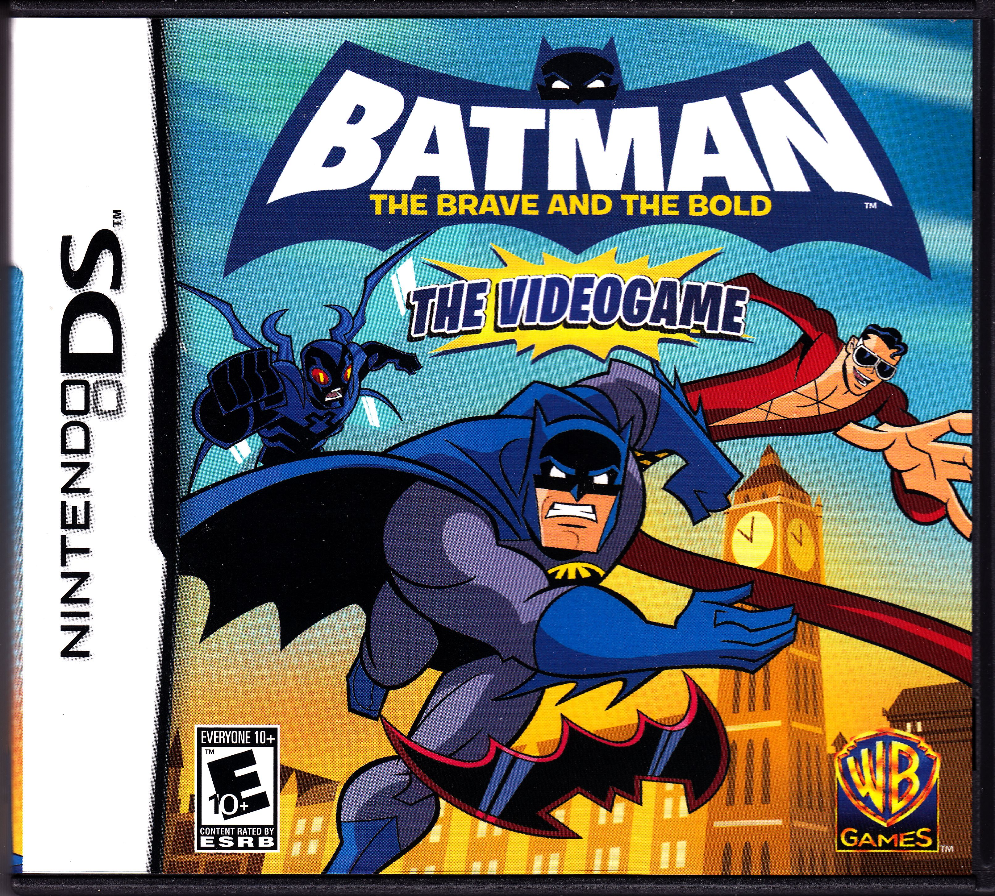 [NDS] 5187 - Batman The Brave and The Bold (2008) [ENG / PAL]
