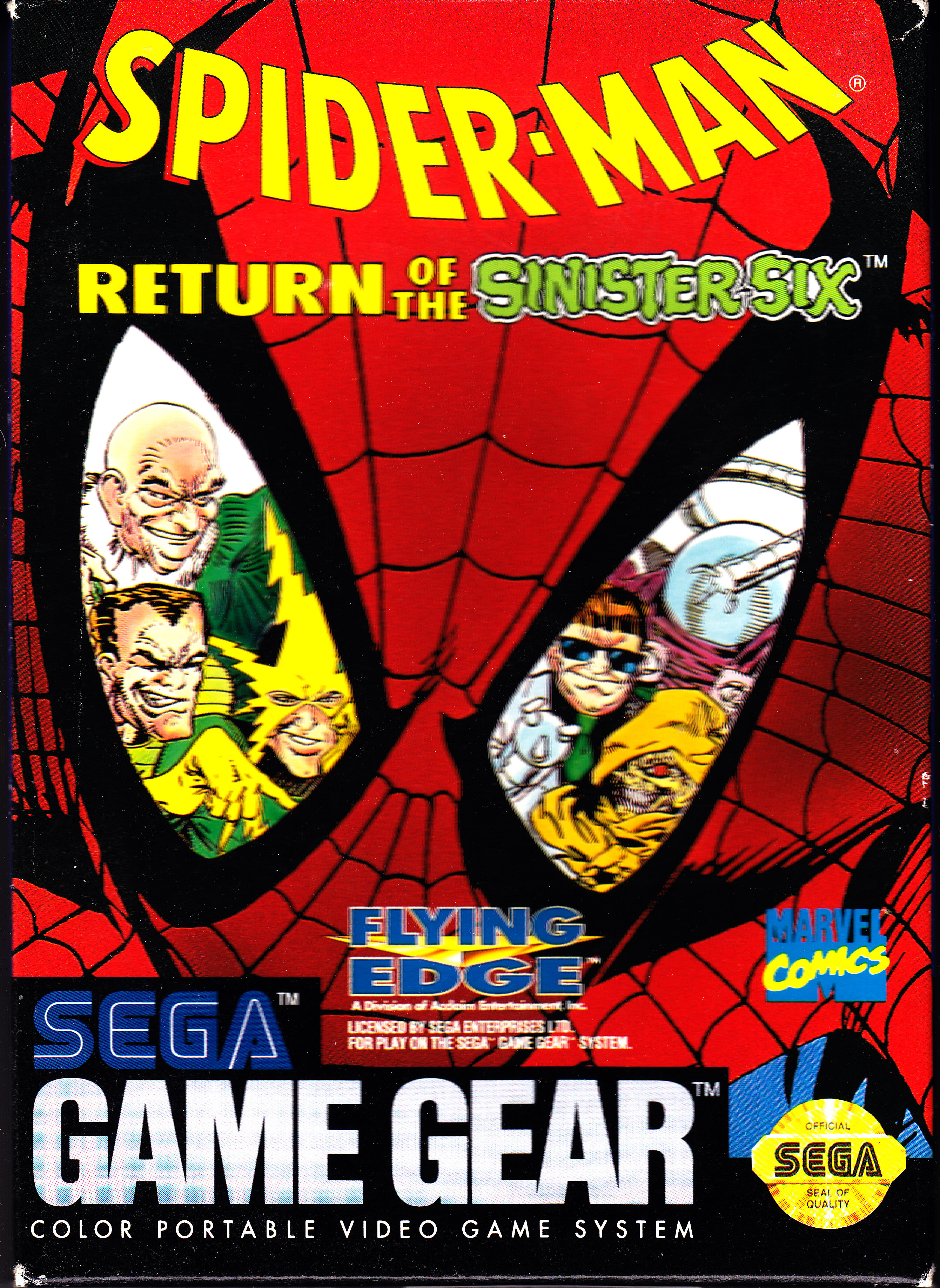 Sega Game Gear Spider-Man Return of the Sinister Six Front Cover.jpg