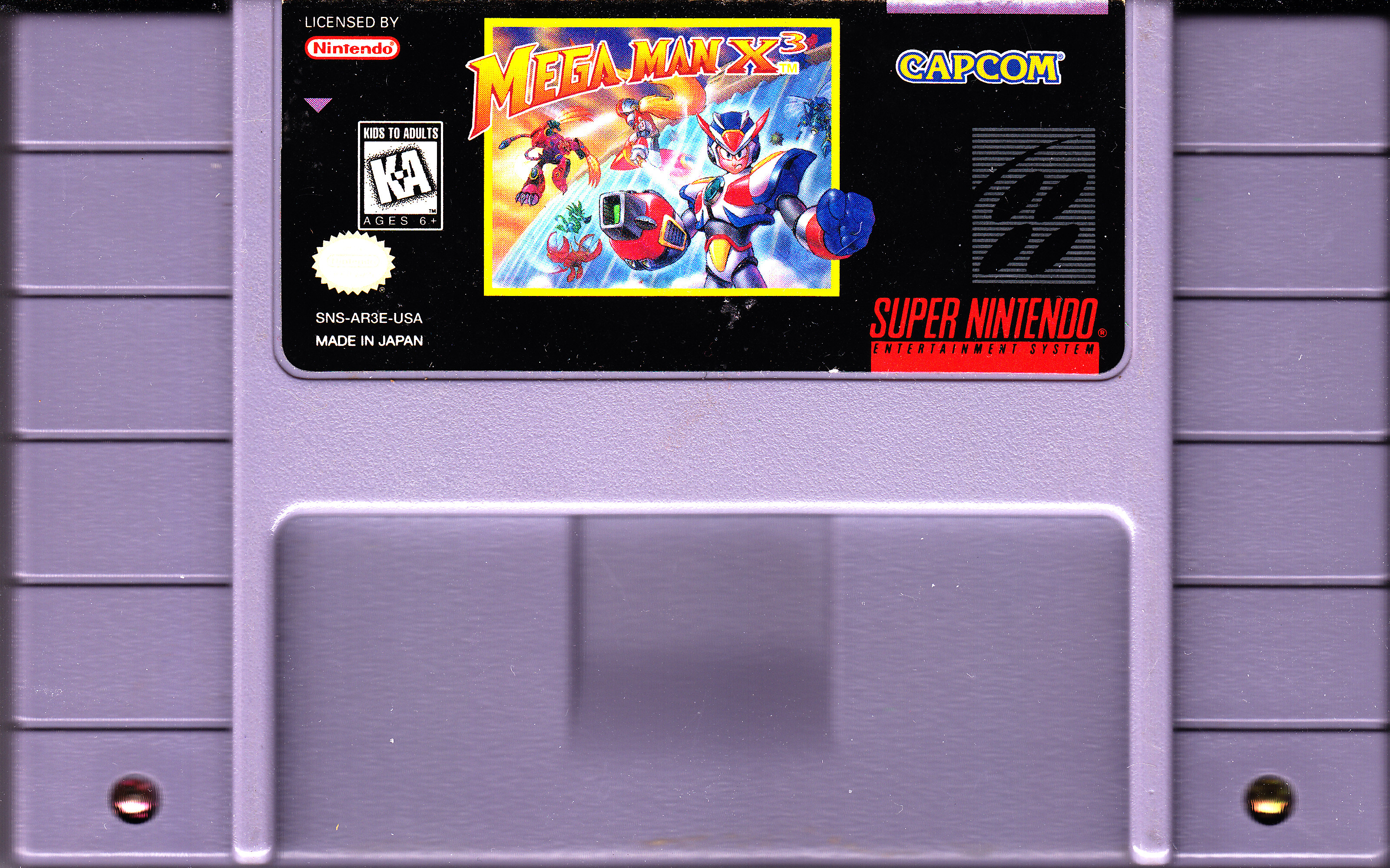 Index Of Video Games Collection Super Nintendo Scans Full Size Mouse Terminator X3 Mega Man Front Cover