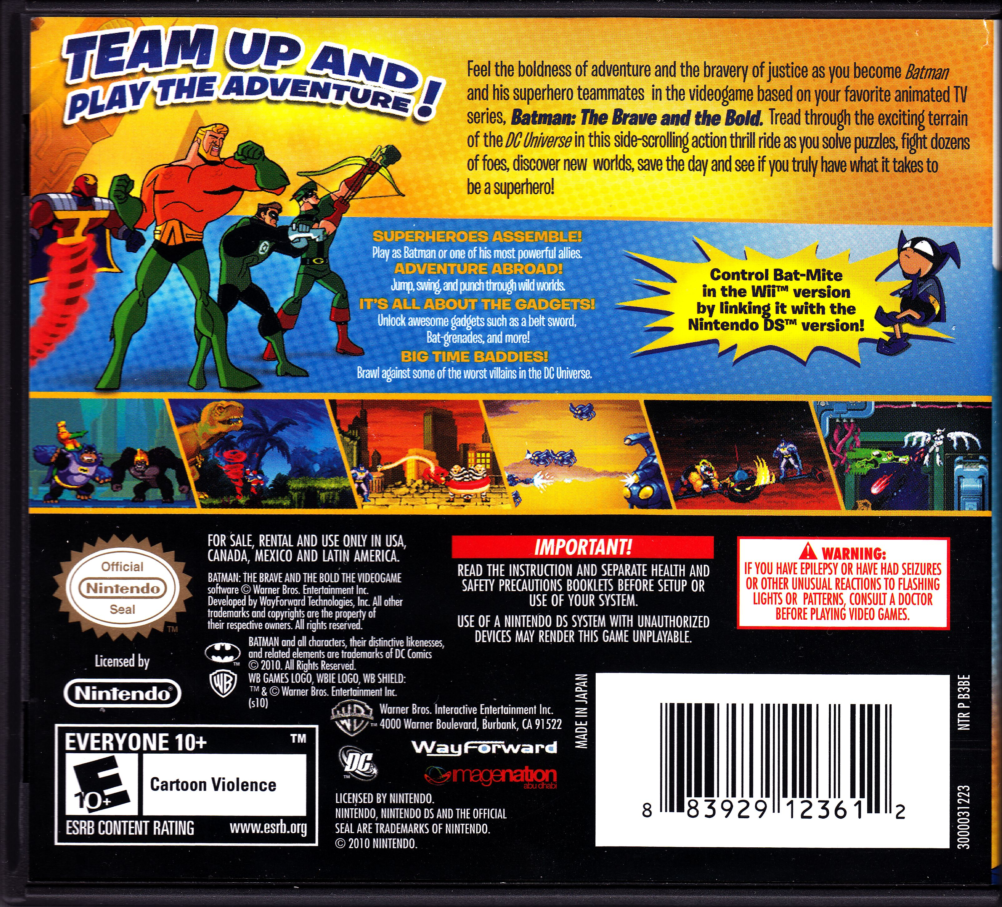 download batman the brave and the bold ds rom