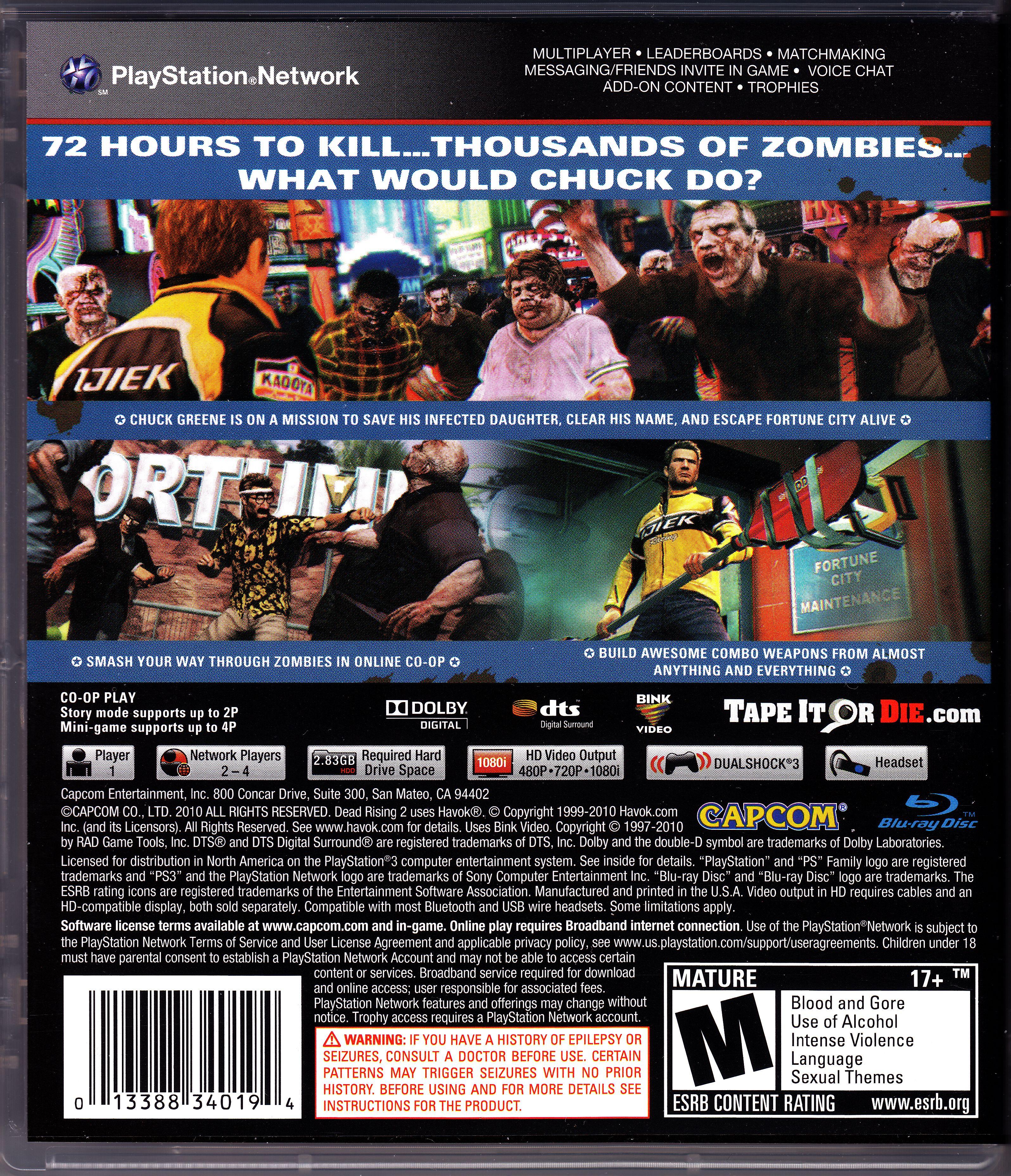 Dead rising 2 cheats gamespot.